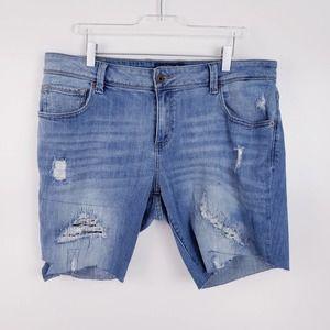 Lucky Brand Boyfriend Cut-Off Shorts Size 14